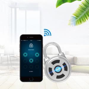 Buy cheap Waterproof Keyless Bluetooth Padlock Easy To Exchange Battery Design product