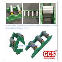Images of retractable flexible expandable roller conveyor chain