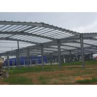 Quality Pre Engineered Steel Structure Hangar , Steel Pipe Truss Airport Hangar Construction for sale