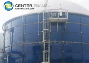 Buy cheap 6000000 Gallons Bolted Steel Leachate Storage Tanks For Landfills Waste Collection Sites product