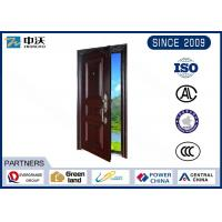 Solid Structure Fireproof Entry Doors Environment Friendly 90 Minute Fire Grade