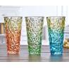 Buy cheap Rose Flower Decorative Glass Vases Machine Press For Friend Restroom Desktop product