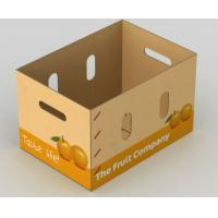 corrugated vegetables packing boxes for fruit shipping iso9001