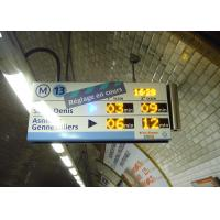 Buy cheap High Definition Panel Mount Electronic Information System For Paris Metro Line 13 product