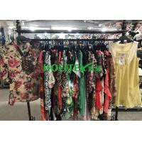 Buy cheap Clean High Quality Second Hand Clothes , Popular Used Girls Clothes Silk Blouse from wholesalers