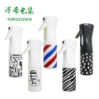Buy cheap Plastic Trigger Cosmetic Spray Bottle 300ml 200ml Salon Water Continuous Container product