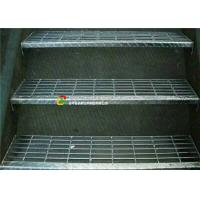 China Galvanised Steel Stair Treads Grating Anti Slip Step Ladder For Platform on sale