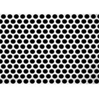 Buy cheap 3mm Thick Aluminum Perforated Metal, Powder Coated Perforated Alum Sheet AA1100 product