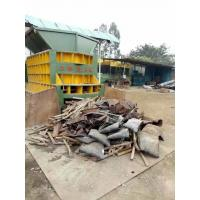 Buy cheap Scrap Metal Automatic Shear Machine Control Carried Out By Grabber Crane product