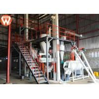 Buy cheap Automatic Safe Poultry Pellet Feed Plant 1 - 2.5t/H Capacity 380V / 50Hz Voltage product