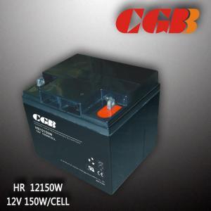 China Valve Regulated Lead Acid Telecom Alarm System HR12150W High Rate Battery on sale