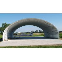 Quality Wide Span Steel Structure Aircraft Hangar Buildings Covered Roof Panel for sale