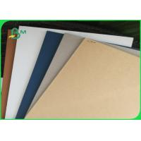 Hard Stiff Large Grey Chipboard Sheets / Grey Board Paper For Gift