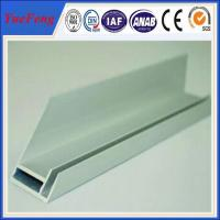 Buy cheap aluminium extrusion for solar frame with CNC machined holes,cutting product