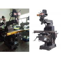 3HP Power Bench Top Milling Machine With 80 - 5440 / 16 Grades 60HZ Spindle Speed