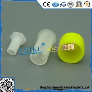 Buy cheap Delphi injector plastic protection cap E1023001 , common rail car injector flip spouted cap / practical production cap product