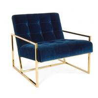 images of navy blue chair with metal frame velvet relax metal rh mirrorfurnitureset wholesale wneducation com