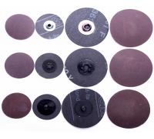 Buy cheap 2 inch 3 inch Roloc Abrasive Disc 60 grit , Orbital Aluminum 3m 361f Roloc Disc product