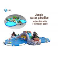 Buy cheap PVC Tarpaulin Commercial Pool Water Slides Fashion Giant Durable Waterproof from wholesalers