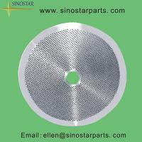 Buy cheap paper processing equipment stainless screen plate product