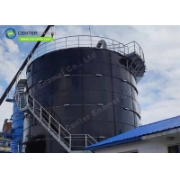 Buy cheap Bolted Steel Anaerobic Digestion Tanks For Wastewater Treatment Plant product
