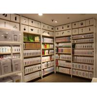 Images Of Garment Shop Metal Shelving Units With Wood Shelves 25mm