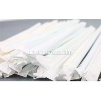 Buy cheap Automatic Single Drinking Straw Packing Machine Packing / Wrapping for Paper from wholesalers