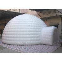 Buy cheap Giant Inflatable Igloo Tent , White 3.5 M Height Inflatable Outdoor Tent product