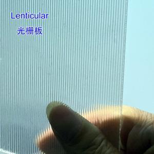 Buy cheap 3D Lenticular Sheet for 3D advertising photo 18LPI lenticular for Injekt printing LENTICULAR 3D POSTER by injekt printer product