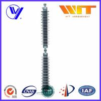 Quality Line Type Transformer Surge Arreste For Power Transmission , Grey Silicone Housing for sale