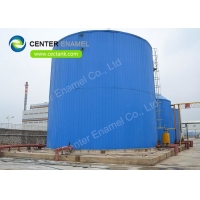 Buy cheap Chemical Resistant Glass Lined Steel Sludge Digestion Tanks , Commercial Water Storage Tanks product