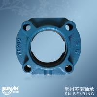 Buy cheap Heavy Loading 4 Bolt Flange Bearings , Agricultural Bearing FC209 product