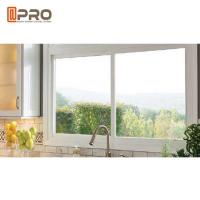 Buy cheap Aluminium Frame Modern House Windows , 5 + 9 + 5mm Thickness Aluminium Glass Window product
