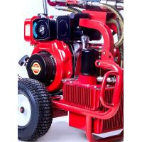 Buy cheap Hydraulic Diesel Piston Pump Sprayer Airless Paint Equipemnt 13.5L/Min Putty product