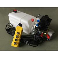 "G3/8"" Oil Port Mini Hydraulic Power Packs , DC 24v Hydraulic Power Pack With 8L Plastic Oil Tank"