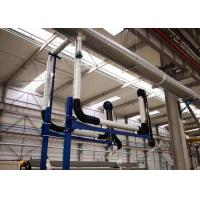Buy cheap 3 + 3m Length Fume Extraction Arms Anti - Chemical Aluminum Ally Supporting product