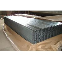 Buy cheap AA1050 1060 Corrugated Aluminum Roofing Sheet Width 820mm - 1000mm Silver Color product