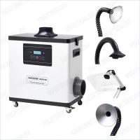Buy cheap M6001DW Digital Nail Salon Fume Extractor / White Color Medical Portable Smoke Extractor 80W product