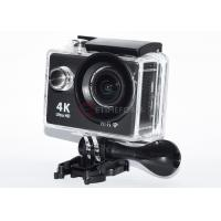 Quality Black Remote Control Action Camera FHD 1080p High Resolution For Home Security for sale