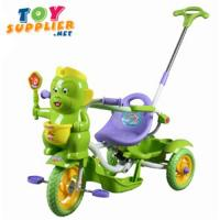 Buy cheap Kid's Pedal Tricycle With Push Hand Bar, Music product