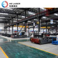 Buy cheap High Powered Fiber Laser Cutting Machine , Galvanized Steel Sheet Cutting Machine from wholesalers