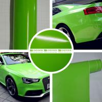 Buy cheap Glossy Car Wrapping Vinyl Films--Glossy Apple Green product