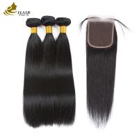 Buy cheap Micro Loop Dark Brown Straight , Real Fusion Ladys Hair Extensions 8