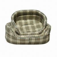 China Canvas Donut Pet Bed, Available in 3 Sizes on sale