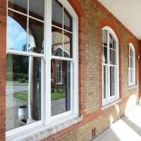 Buy cheap Double Or Single Glazing Hung Aluminum Sash Windows / Vertical Opening Windows product