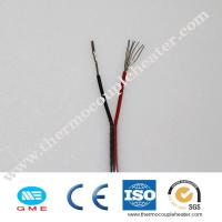 Buy cheap Different Models Of Thermocouple Components Insulated KX - GB -2*0.5FF Compensation Wire product