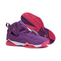 Quality Purple Color Air jordan VII AJ7 woman basketball Sports Shoes, size 36-40 with box for sale
