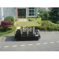 Buy cheap Six Mast 12m Self Propelled Aerial Lift 400kg Capacity With Big Platform product