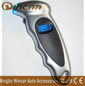 Buy cheap Universal Diagnostic Digital Air Pressure Gauge For Bicycle / Bike / Car Tires product