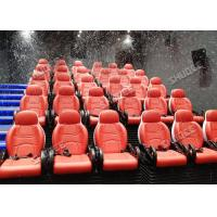 Buy cheap Incredible Bubble Machine 5D Theater System Deeply Immersion Luxury Red Motion Seats product